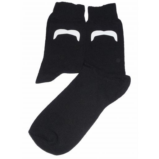 Mexican Style Moustache Design Socks Great Novelty Gift Socks Luxury Cotton Novelty Socks Adult size UK 6-12 Euro 39-49