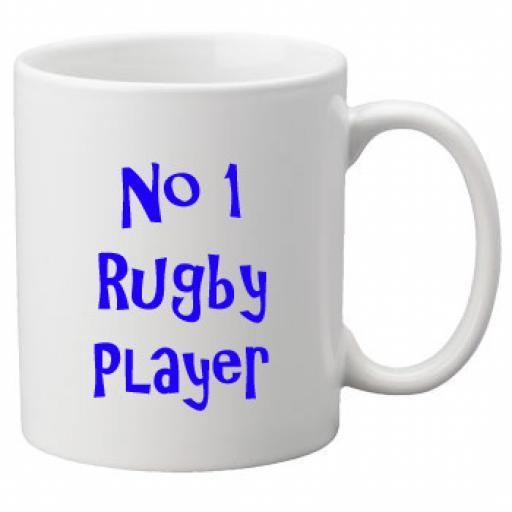 No 1 Rugby Player, 11oz Ceramic Mug