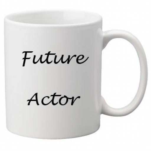 Future Actor 11oz Mug
