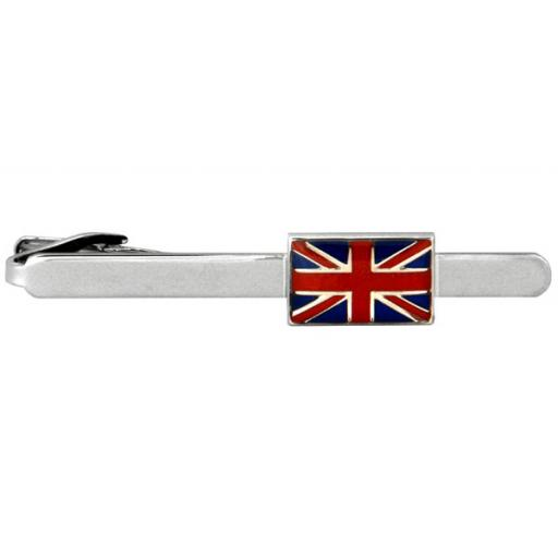 Union Jack (UK) flag Tie Clip A Great High Quality Product