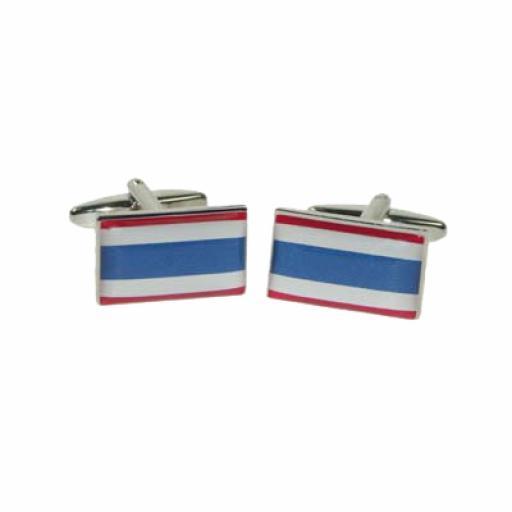 Thailand Flag Cufflinks (BOCF111)