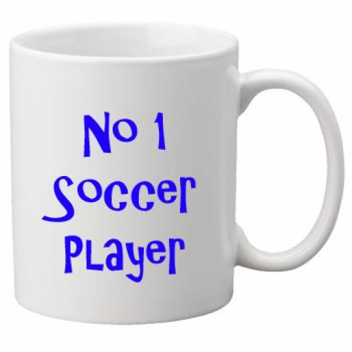 No 1 Soccer Player, 11oz Ceramic Mug