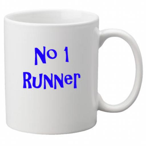 No 1 Runner, 11oz Ceramic Mug