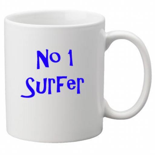 No 1 Surfer, 11oz Ceramic Mug