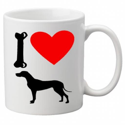 I Love Great Dane Dogs on a Quality Mug, Birthday or Christmas Gift Great Novelty 11oz Mug