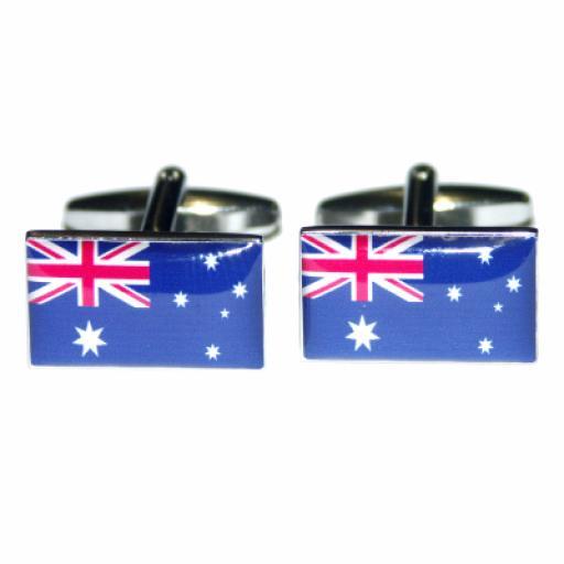 Australia Flag Cufflinks (BOCF14)