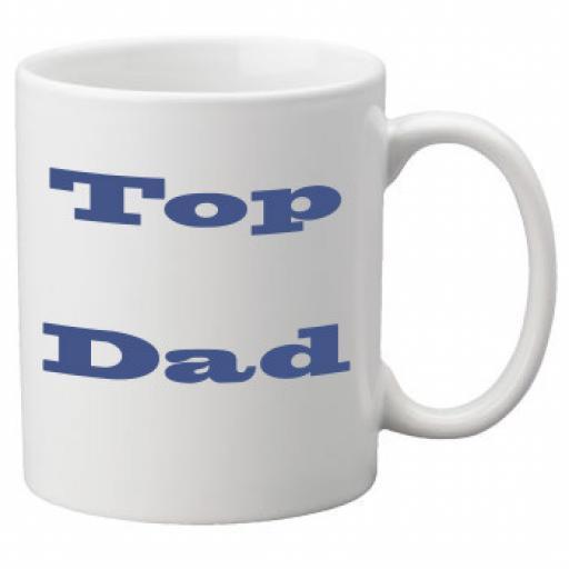Top Dad 11oz Mug