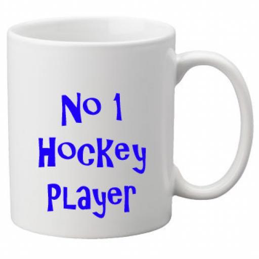 No 1 Hockey Player, 11oz Ceramic Mug
