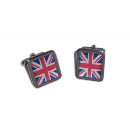 Union Jack cufflinks