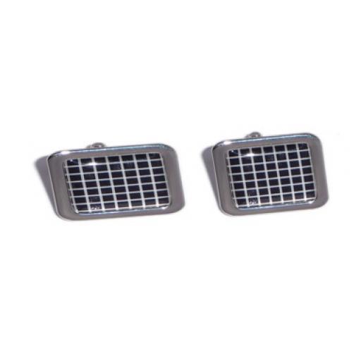 Black & White Squares cufflinks