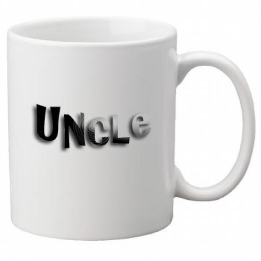 Uncle - 11oz Mug, Great Novelty Mug, Celebrate Your Wedding In Style Great Wedding Accessory