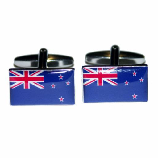New Zealand Flag Cufflinks (BOCF23)