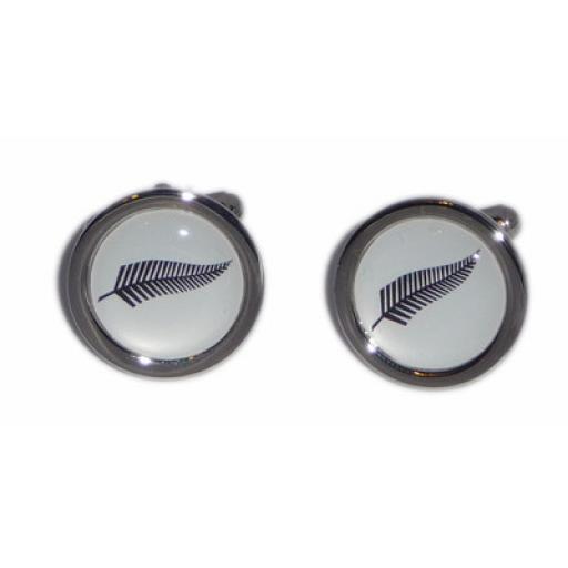 Black Fern cufflinks
