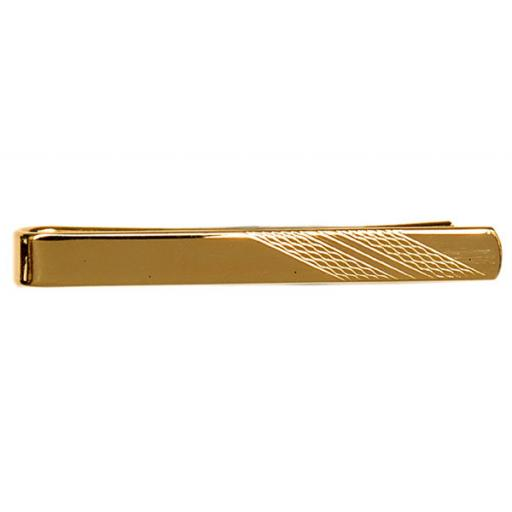 Barley Design on End Tie Slide - Gold Plate A Great High Quality Product