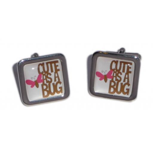 Cute As A Bug cufflinks