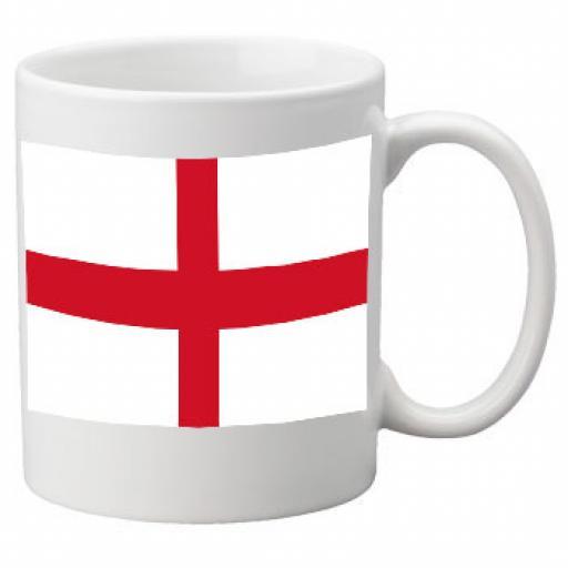 England Flag Ceramic Mug 11oz Mug, Great Novelty Mug